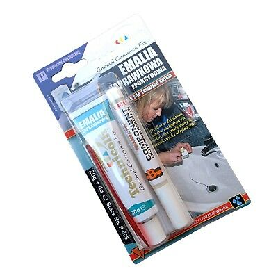 Bath White Enamel Repair Kit Fix Scratch Crack Chip Ceramic Sink Technicqll P805 • 6.38£