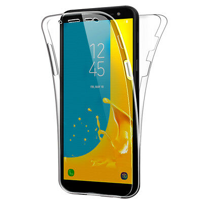 AU7.18 • Buy SDTEK Samsung Galaxy J6 (2018) Case 360 Full Cover Silicone Front + Back