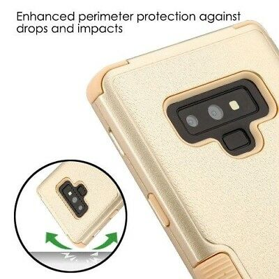 $ CDN13.34 • Buy For Samsung Galaxy Note 9 - Hybrid Hard Shockproof Armor Phone Case Cover Gold