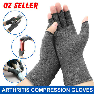 AU8.85 • Buy Arthritis Gloves Compression Joint Finger Pain Relief Hand Wrist Support Brace