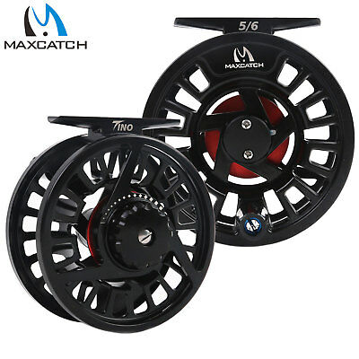 $ CDN35.44 • Buy Maxcatch Tino Fly Fishing Reel 3/4, 5/6, 7/8 Weight Large Arbor Trout Fly Reel