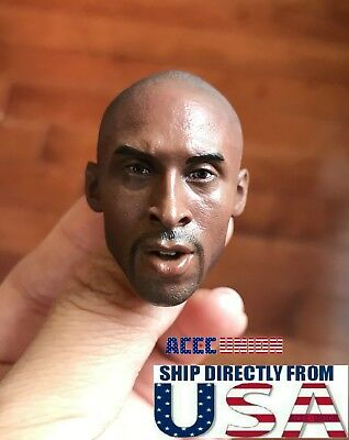 $32.99 • Buy 1/6 Kobe Bryant Head Sculpt Custom For 12  Hot Toys Enterbay PHICEN Figure USA