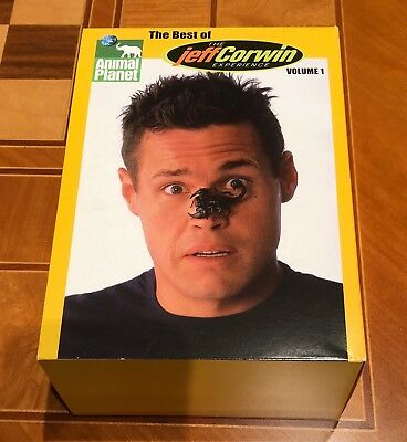 £32.26 • Buy ANIMAL PLANET Best Of JEFF CORWIN EXPERIENCE Vol. 1 5 DVD Set Used 2005 731505