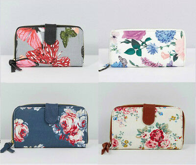 Designer Large Purse Oilcloth/Canvas/PU  Ladies Womens Coin Purse/Wallet NEW • 5.49£