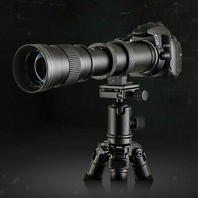 £80.12 • Buy 420-800mm F/8.3-16 Super Telephoto Lens Manual  For Canon EOS Cameras