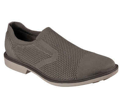 NEW MARK NASON BY SKECHERS Men Sneakers Loafer Slipper Memory Foam MONZA Grey • 44.99£