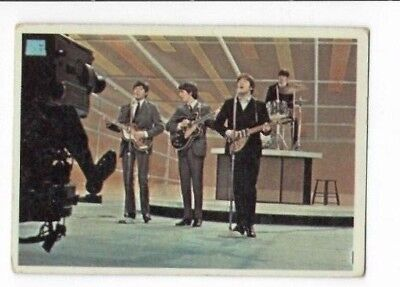 $5 • Buy 1964 Topps Beatles Color Card 61
