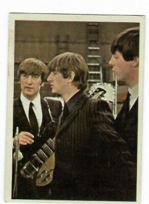 $5 • Buy 1964 Topps Beatles Color Card 24 !!