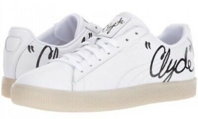 Puma Clyde Signature Ice Series Rare Sneaker White With Black Signature Shoe • 50.14£