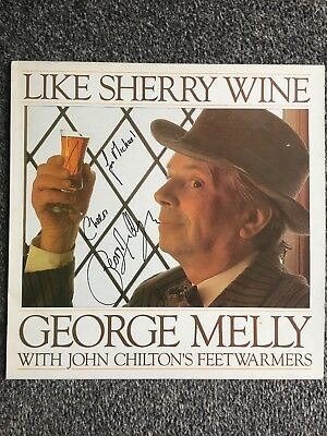 George Melly With John Chiltons Feetwarmers. Like Sherry Wine. SIGNED • 7.99£