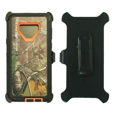 $ CDN16.43 • Buy For Samsung Galaxy Note 9 Defender Case Cover W/Clip Fits Otterbox Orange Tree