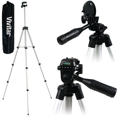 AU32.76 • Buy Lightweight Vivitar 50  Photo-Video Tripod For Panasonic Lumix DMC-FZ70 DMC-GM5