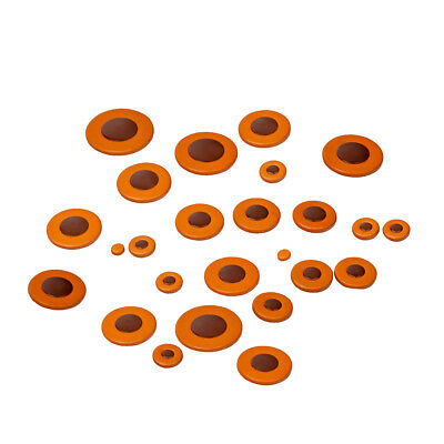 Complete Set Of 25 Pads Tenor Saxophone Pads For Yamaha Saxophone Parts • 11.42£