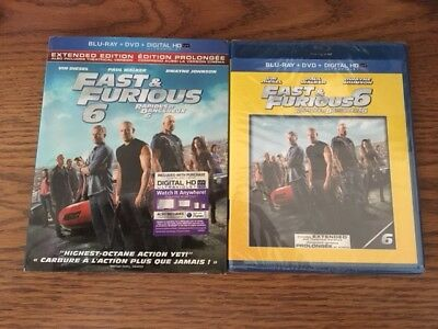 $ CDN17.49 • Buy Factory Sealed Fast & Furious 6 Extended Edition Blu-ray + DVD + Digital HD