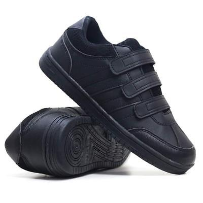 Mens New Casual Faux Leather Wide Fit Walking Running Gym Trainers Driving Shoes • 15.95£