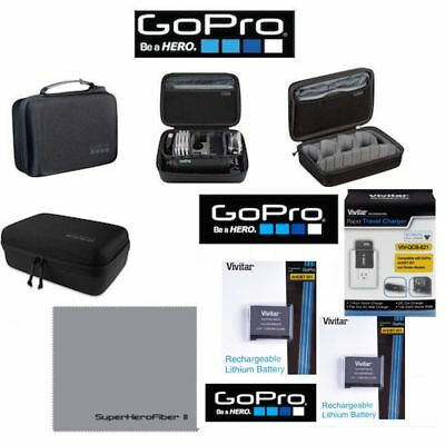 $ CDN99.10 • Buy 2X BATTERY FOR GoPro HERO5 BLACK AABAT-001 + GOPRO CASEY ABSSC-001 + CHARGER