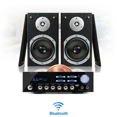 Bluetooth Modern Home HiFi Stereo Speaker And Amplifier Wireless Music System • 125£