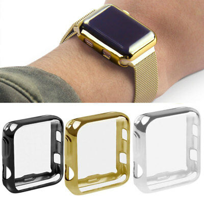 $ CDN3.88 • Buy Apple Watch Series 1 2 3 Full Protective Case+Screen Protector Cover IWatch