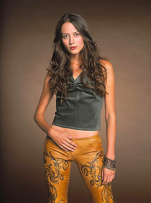 $ CDN6.60 • Buy Amy Acker 8x10 In Black Tank Top And Leather Pants