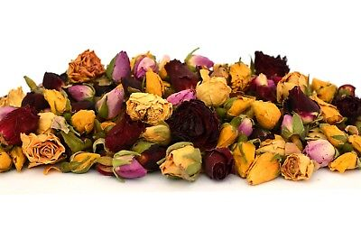 £3.11 • Buy Rose Buds Mix, Dried Flowers, Dry Roses Craft Tea Potpourri Soap Candle Decor