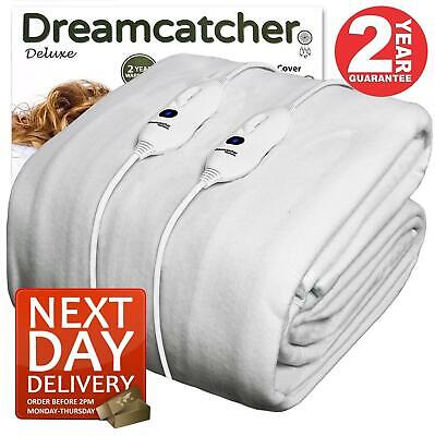 £39.95 • Buy Dreamcatcher Electric Heated Blanket Double Fitted With Dual Controls