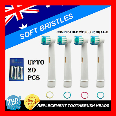 AU9.90 • Buy 20/8/4Pcs Electric Toothbrush Replacement Heads For OralB Braun Models Series AU