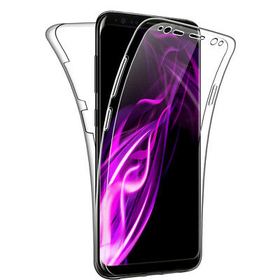 $ CDN6.84 • Buy SDTEK Samsung Galaxy S8 Case 360 Full Cover Silicone Front + Back