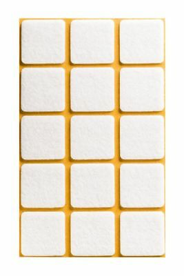 Self Adhesive Felt Sticky Pads Square Tabs Floor Anti Scratch High Quality • 1.69£