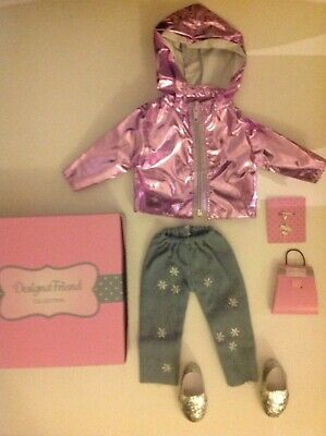 £17.95 • Buy Design A Friend Shimmer Shower Outfit Clothes For Chad Valley Designafriend Doll