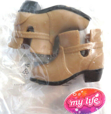 Sherry Fashion Red Worker Shoes//Boots for Tyler//Sybarite//Ficon Doll 1-TSB-8