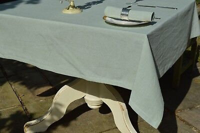 £19.99 • Buy TABLECLOTH, 100% Cotton Oxford Chambray Meadow Green Square Oblong Oval Round