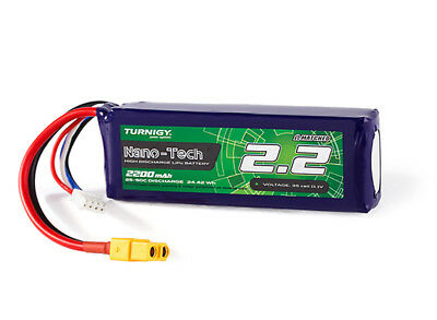 AU24.01 • Buy RC Turnigy Nano-Tech 2200mAh 3S 25C Lipo Pack W/XT60