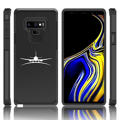 $ CDN19.76 • Buy For Samsung Galaxy Note 8 9 Shockproof Hard Case Cover Airplane