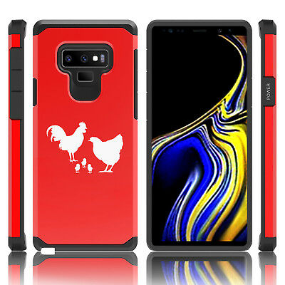 $ CDN19.99 • Buy For Samsung Galaxy Note 8 9 Shockproof Hard Case Cover Chicken Family