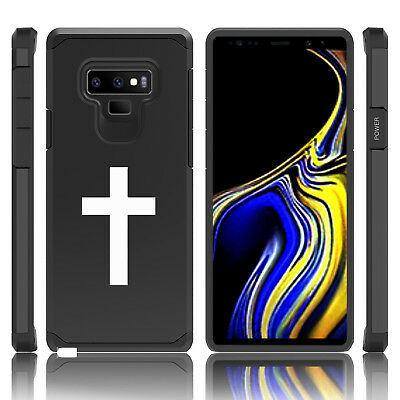 $ CDN19.99 • Buy For Samsung Galaxy Note 8 9 Shockproof Hard Case Cover Cross Christian