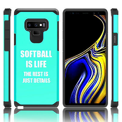 $ CDN20.10 • Buy For Samsung Galaxy Note 8 9 Shockproof Hard Case Cover Softball Is Life