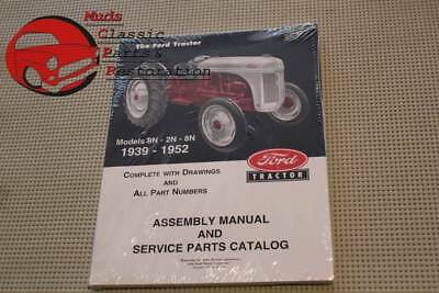 $ CDN30.78 • Buy Ford Tractor 8N/9N/2N Assembly Manual Service Parts Catalog 1939-52