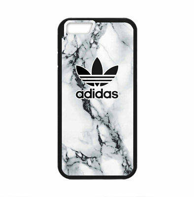 AU27.44 • Buy Adidas White Marble Logo Print Plastic Case IPhone 5s 6s 7 8 X XS XR 11 Pro Max
