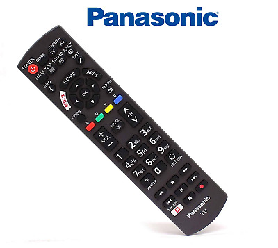 Genuine Panasonic Universal Remote Control For 2017 - 2018 Smart Netflix LED TVs • 9.95£