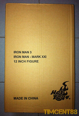 $ CDN551.40 • Buy Hot Toys MMS208 Iron Man 3 Midas Mark XXI 21 Tony Stark 1/6 Exclusive Opened New
