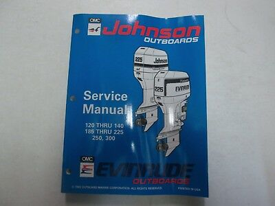 $29.99 • Buy 1994 Johnson Evinrude Outboards 120/140 185/225 250 300 Service Manual 500612***