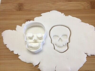 £3.70 • Buy Halloween Cookie Cutter Skull Biscuit, Pastry, Fondant Cutter