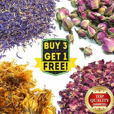 Dried Flowers & Petals For Resin Arts Crafts Potpourri DIY Soap Candle Wax Melts • 2.75£