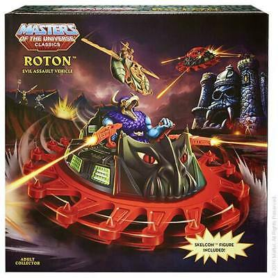 $229.95 • Buy Masters Of The Universe Classics ROTON & SKELCON FIGURE! NEW! COMPLETE!