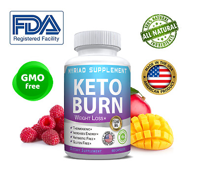 $16.69 • Buy Keto Burn Diet Pills 1200 MG Ultra Ketosis Advanced Weight Loss Supplements