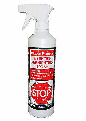 £12.68 • Buy Insect Spray 500 ML Crawling Vermin Insect Killer Spray Ex Stop