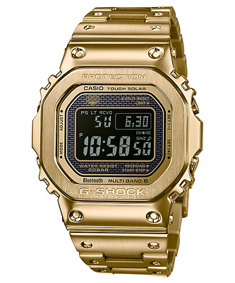 £488.09 • Buy Casio GMW-B5000GD-9D G-Shock Ion Plated Gold Solar Bluetooth Multiband RRP $1149
