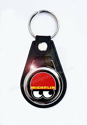 £4.95 • Buy Michelin Faux Leather Key Ring/key Fob. Michelin Man Tyres,classic Racing