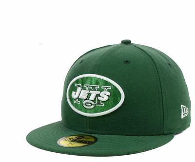 27c64838ae8 New York Jets Green New Era 59fifty Fitted Cap Hat Size 7 1 8 •