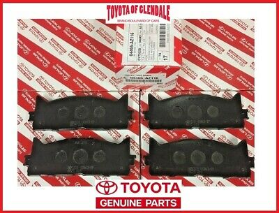 Toyota OEM 2010-2015 Front Disc Brake Pads 04465-33471 Factory Various Models